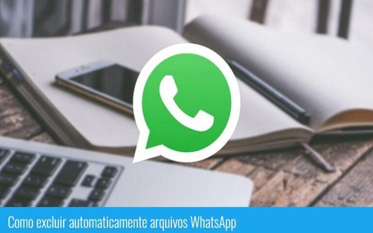 Como excluir automaticamente arquivos do WhatsApp